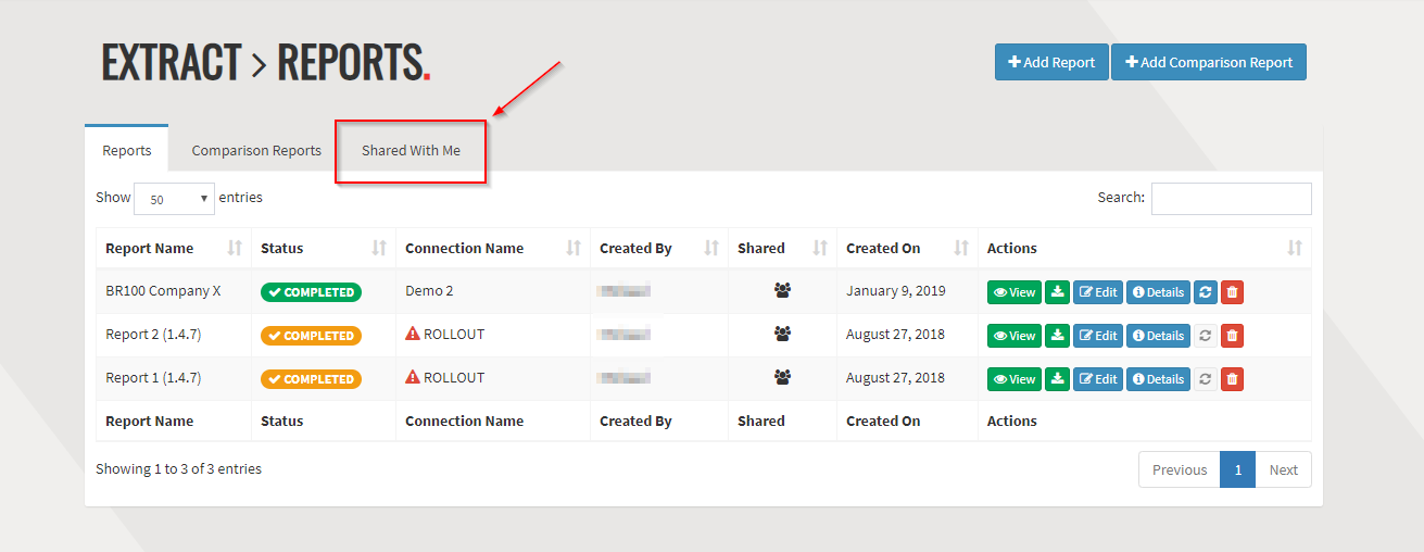 Rapid4Cloud - Reports BR100 for Oracle Shared Options